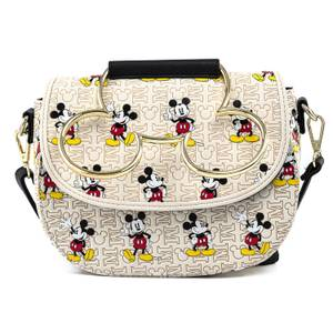 Loungefly Disney Mickey Mouse Hardware Aop Crossbody