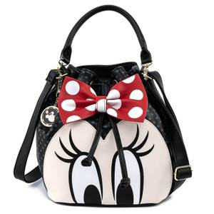 Loungefly Disney Sac à Main Minnie avec Noeud