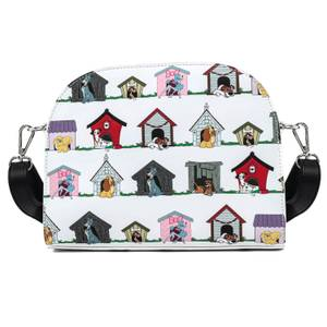 Loungefly Disney Dog Houses Aop Crossbody Bag