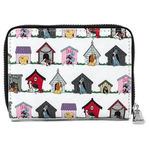 Loungefly Disney Dog Houses Aop Wallet
