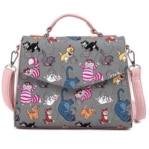 Loungefly Disney Cats Aop Crossbody Bag