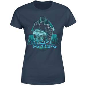 Transformers Megatrons Rage Women's T-Shirt - Navy