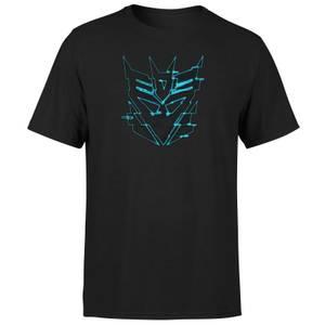 Camiseta Transformers Decepticon Glitch - Negro - Unisex