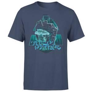 T-shirt Transformers Megatrons Rage - Bleu Marine - Unisexe