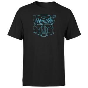 Transformers Autobot Glitch Unisex T-Shirt - Black