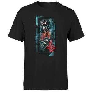 Transformers Sideswipe Glitch Unisex T-Shirt - Black