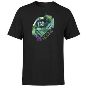 Transformers Hound Glitch Unisex T-Shirt - Black