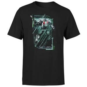 Transformers Wheeljack Tech Unisex T-Shirt - Black