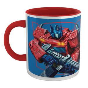 Transformers Optimus Prime Tasse - Weiß/Red