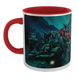 Transformers Autobots Mug - White/Red