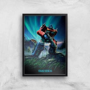 Transformers Optimus Prime A2 Giclee Art Print