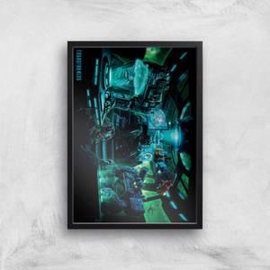 Transformers Decepticons A2 Giclee Art Print