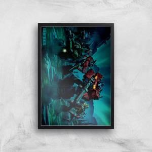 Póster Fine Art Transformers Autobots A2