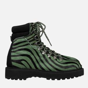 Diemme Women's Monfumo Haircalf Hiking Style Boots - Zebra
