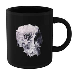 Ikiiki Decay Skull Mug - Black