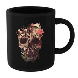 Ikiiki Bloom Skull Mug - Black