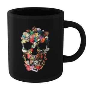 Ikiiki Fragile Skull Mug - Black