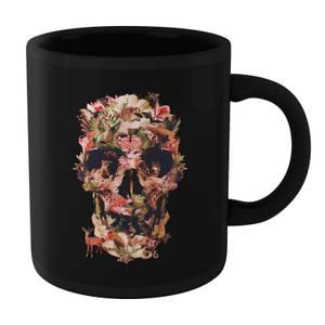 Ikiiki Jungle Skull Mug - Black