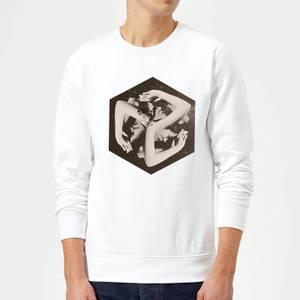 Ikiiki Box Sweatshirt - White