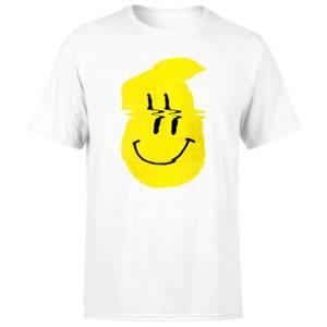 Ikiiki Smiley Men's T-Shirt - White
