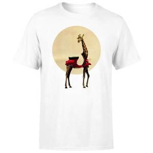 Ikiiki Giraffe Men's T-Shirt - White