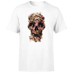 Ikiiki Jungle Men's T-Shirt - White