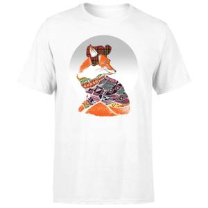 Ikiiki Winter Fox Men's T-Shirt - White