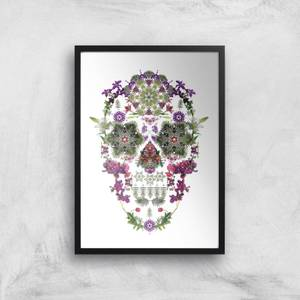Ikiiki Dream Skull Giclee Art Print