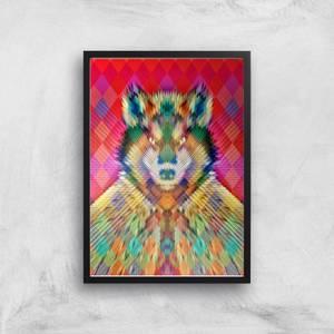 Ikiiki Wolf Giclee Art Print