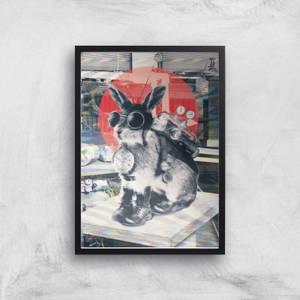 Ikiiki Time Traveller Giclee Art Print