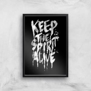 Ikiiki Keep The Spirit Alive Giclee Art Print