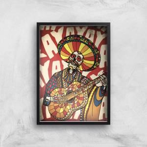 Ikiiki Mariachi Giclee Art Print