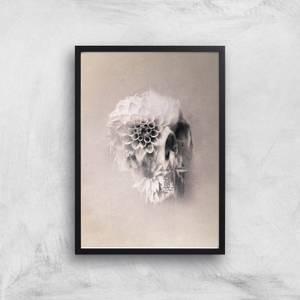 Ikiiki Decay Skull Giclee Art Print