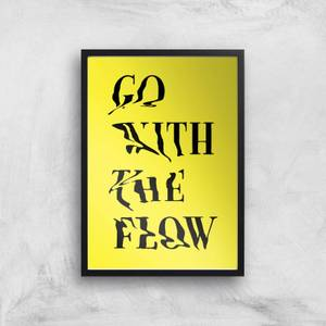 Ikiiki Go With The Flow Giclee Art Print