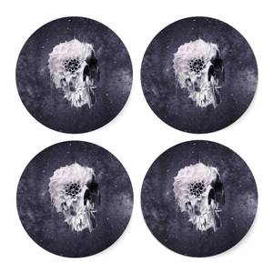 Ikiiki Decay Skull Coaster Set