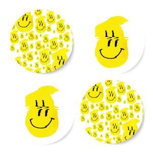 Ikiiki Smiley Coaster Set