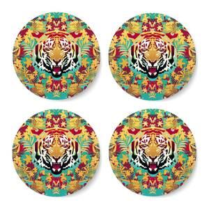 Ikiiki Tiger Coaster Set