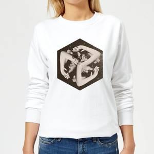 Ikiiki Box Women's Sweatshirt - White
