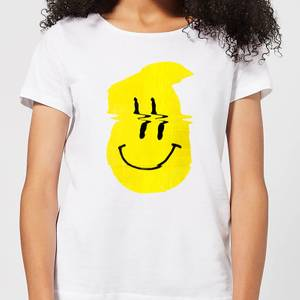 Ikiiki Smiley Women's T-Shirt - White