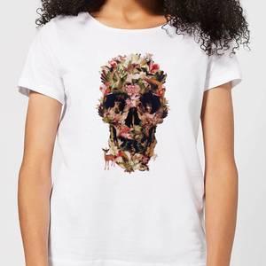 Ikiiki Jungle Women's T-Shirt - White