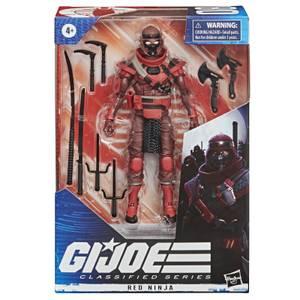 Hasbro G.I. Joe Classified Series Red Ninja Action Figure