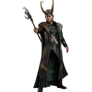 Figurine Articulée Loki à l'échelle 1/6 Movie Masterpiece Series PVC Avengers: Endgame 31cm - Hot Toys