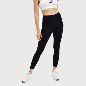 Tommy Sport Women's 7/8 Butt Enhancing Leggings - PVH Black
