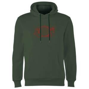 Transformers War For Cybertron Hoodie - Forest Green