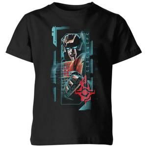 Transformers Sideswipe Glitch Kids' T-Shirt - Black