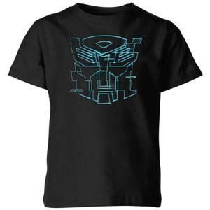 T-shirt Transformers Autobot Glitch - Noir - Enfants
