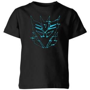 Transformers Decepticon Glitch Kids' T-Shirt - Black