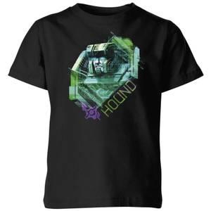T-shirt Transformers Hound Glitch - Noir - Enfants