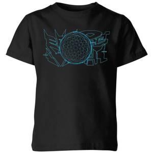 T-shirt Transformers War For Cybertron - Noir - Enfants