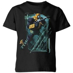 Transformers Bumble Bee Tech Kids' T-Shirt - Black
